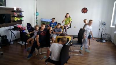 Denný letný tábor - Zábava v plnom prúde